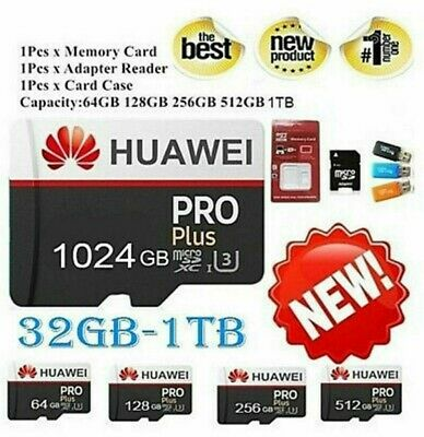 Huawei 256GB 512GB 1024GB SD Memory Card Class 10 TF Flash Memory Card