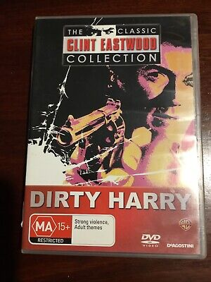 DIRTY HARRY  Clint Eastwood Good Condition DVD R4