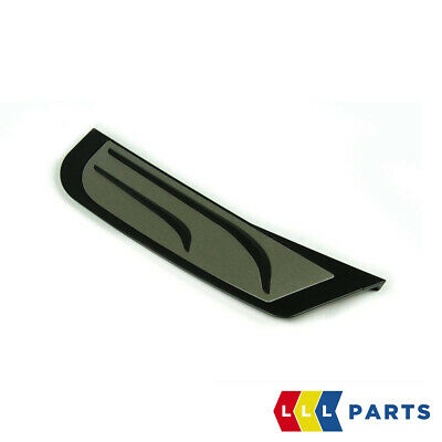 Bmw New Genuine M Performance Stainless Steel Footrest Cover Pad 51472413361