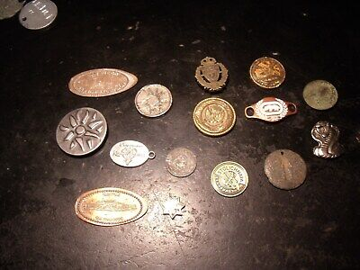 JUNK DRAWER LOT Medals-DISNEY MILITARY-ASIAN-COBRA Tokens & MAVERICKS  15 ITEMS