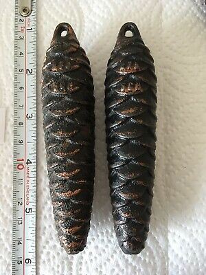 2 x 275g Pinecone Cuckoo Weights Sold In 2's -  For Spares/repair