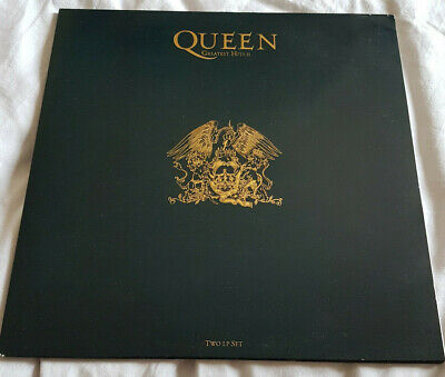 Queen Greatest Hits II (2) 1st UK Press Double LP Embossed Complete *VERY RARE*