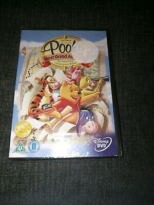 Winnie The Poohs Most Grand Adventure - Search For Christopher Robin [DVD] new