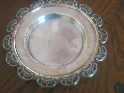 Vintage Silver Plated Dish