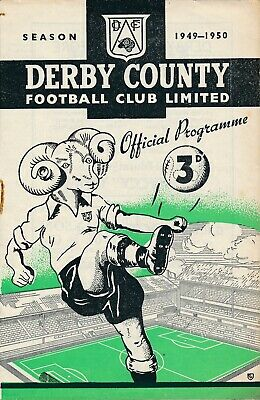 Derby County v Liverpool 1949/50 - Football Programme