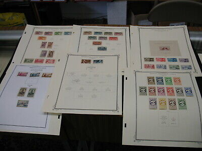 French Equatorial Africa 1936-1958 Mint/Used CV $295 Nice Lot