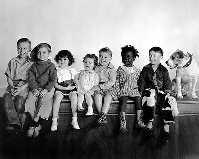 THE LITTLE RASCALS 'Our Gang' Glossy 8x10 Photo Comedy Short Films Print Poster