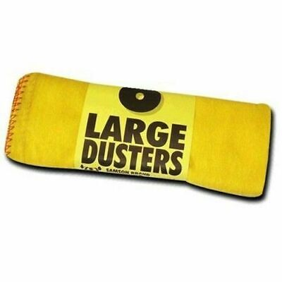 Jumbo 100% Cotton Dusters for Kitchen, Car, Cleaning Cloth Pack of 6 - UK SELLER
