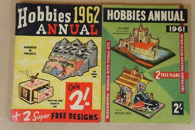 2 x Hobbies Annuals from 1961 & 1962
