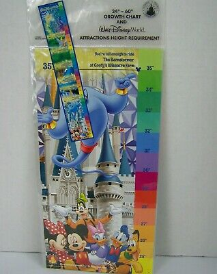 Disney Parks Growth Chart Ride Height Requirements Walt Disney World Child