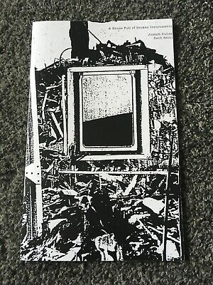 Zach Reini A House Full Of Broken Instruments Zine Youth Attack Mark McCoy rare