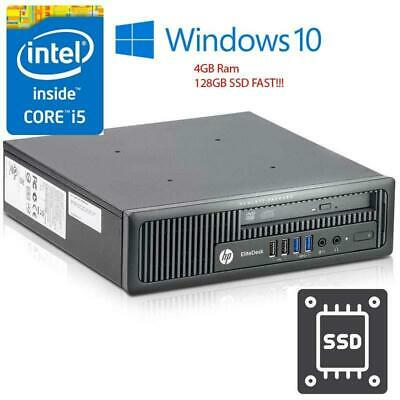 HP ELITEDESK 800 G1 PC Ultra Slim Desktop Intel Core i5 2 9
