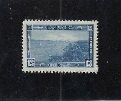 CANADA (MK4317) # 242 VF-MNH 13cts HALIFAX HARBOUR // 1938 PICTORIAL CAT VAL $30