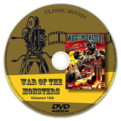 War of the Monsters (1966) - Classic Japanese Sci-fi Movie / Film DVD