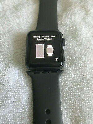 Apple Watch Series 3 38mm GPS Aluminum Case Sport Band -Space Gray