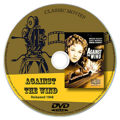 Against The Wind (1948) Robert Beatty, Simone Signoret - Action, War, Drama DVD