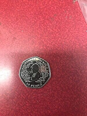 Sherlock Holmes 50p 2019 Brand New From Minted Bag UNCIRCULATED New