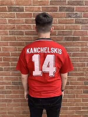 Manchester United Man Utd 1992-1994 #14 Kanchelskis Medium Original Umbro