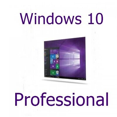 Microsoft Windows 10 pro key Professional Für 32/64 Bit Vollversion ESD key