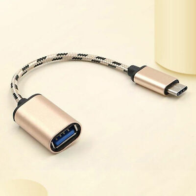 31 TypeC USBC OTG Cable USB 31 Male to USB 20 TypeA Female Adapter Cord Sup S4X8