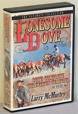 lonesome Dove DVD box set- Both Complete TV series - 10 DVDs