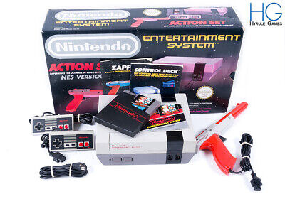 Nintendo Entertainment System NES Retro Action Set Console Bundle Boxed! PAL [1]