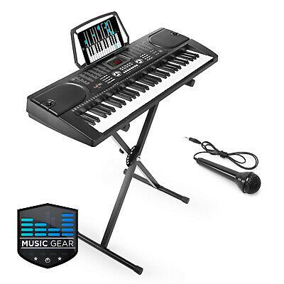 OPEN BOX - 61 Key Electronic Piano Electric Keyboard with Stand & Microphone