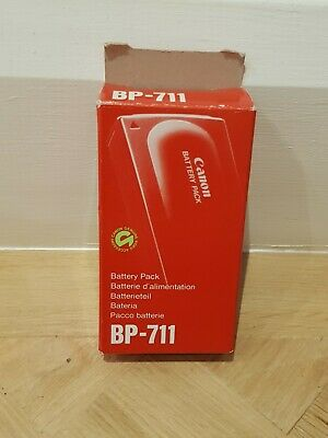 Genuine CANON BP-711 1100mAh 6V NiCd Camcorder BATTERY PACK Boxed & TESTED