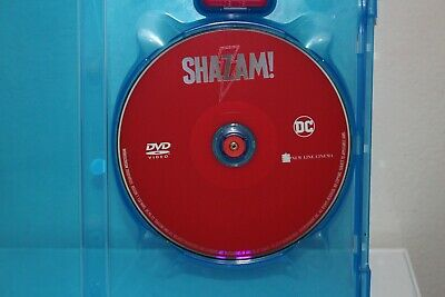 Shazam!  Dvd Disc (Dvd Only) 2019 DC Movie Never watched Please Read Description