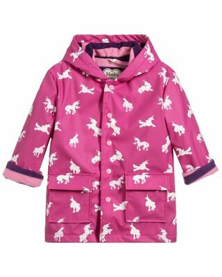 Hatley Girls Colour Changing Unicorn Raincoat F18Uck1336