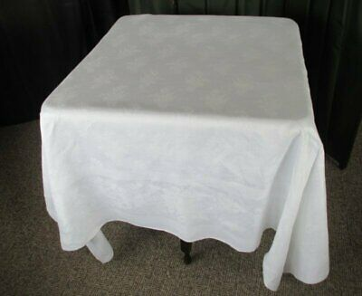 Antique Irish Linen Damask Tablecloth-Lily Of Valley