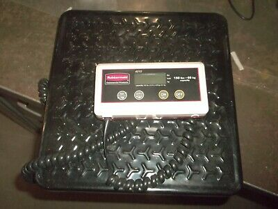 Rubbermaid 4010-88 Digital Scale 150 Pound Capacity (Rr3)