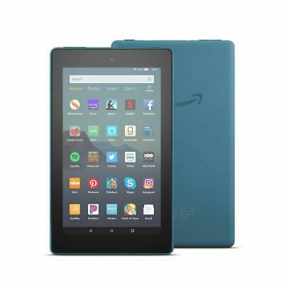 """All-New Fire 7 Tablet (7"""" display) 2019 release - 9th Gen, 16 GB [Twilight Blue]"""
