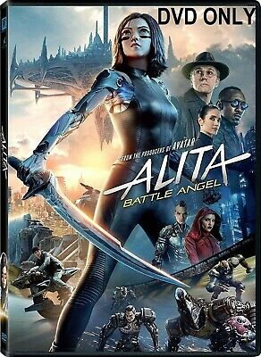 Alita: Battle Angel (2019) DVD ONLY *** The disc has never been watched ***