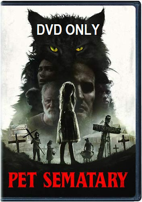 Pet Sematary (2019) DVD ONLY *** The disc has never been watched ***