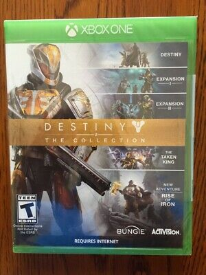 Destiny: The Collection - Microsoft Xbox One Brand New Sealed!!
