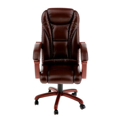 1/6 Scale Swivel Chair Office Desk Chairs Action Figure Toy Accessories