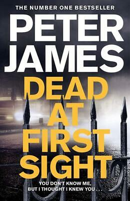 Dead At First Sight (Roy Grace) By Peter James New Hardcover Book Mystery Gift