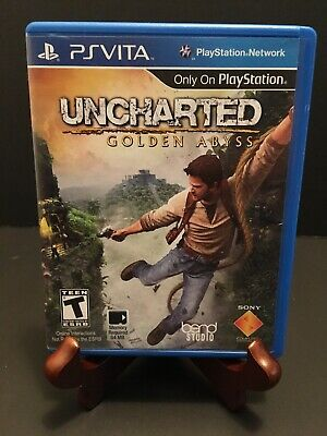 Uncharted: Golden Abyss (Sony PlayStation Vita, 2012) PS VITA