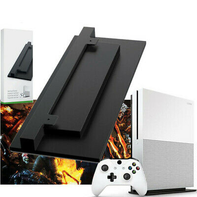 For Microsoft XBOX ONE S SLIM Console Non-slip Vented Vertical Stand Holder NE8