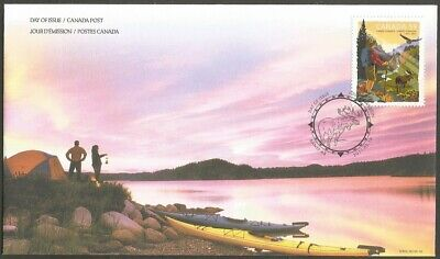 Canada 2011 Parks Canada 59C Stamp,Canada Post Day Of Issue Cover,Banff Ab