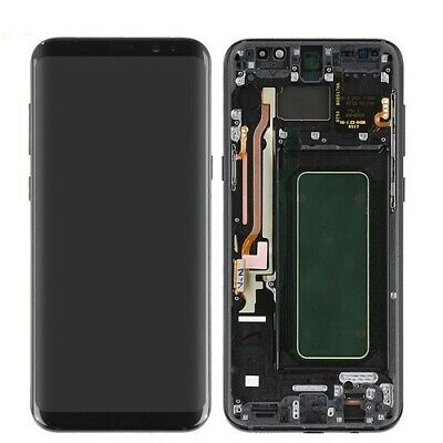 Samsung Galaxy  S8 PLUS + LCD Touch Screen Digitizer with Frame 100% TESTED