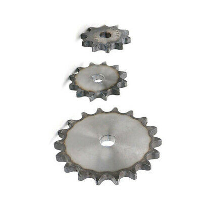 "#40 Chain Drive Sprocket 10T-37T Bore Tooth Pitch 1/2"" 12.7mm For #40 08B Chain"