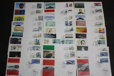 Lot 30 Valued Germany Stamp First Day Covers Fdc 1991 Collection