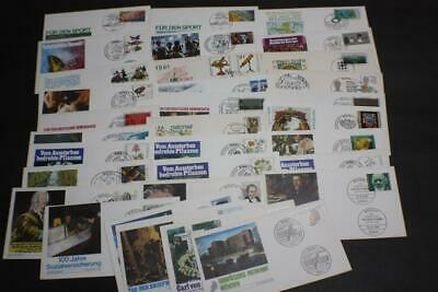 Lot 32 Valued Germany Stamp First Day Covers Fdc 1981 Collection
