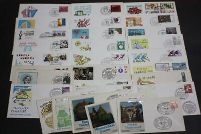 Lot 29 Valued Germany Stamp First Day Covers Fdc 1979 Collection