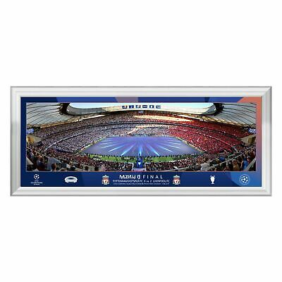 "Liverpool FC UCL Final 20"" Pano Frame LFC Official"
