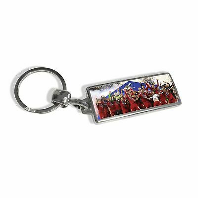 Liverpool FC UCL Final Keyring Celebration LFC Official