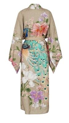 NWT Spell & the Gypsy Collective Waterfall Robe In Taupe M/L SOLD OUT!