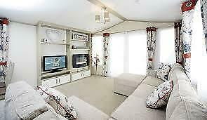 luxury 3 bedroom static caravan for sale play park location sited north west